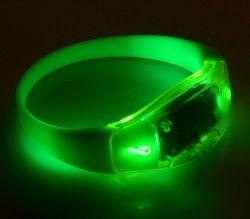 Silikon-blinkende Armbänder der Qualitäts-LED
