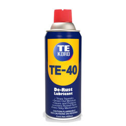 연무질 반대로 녹 윤활유 (TE-40)