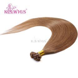 Erstklassige indische Jungfrau Remy Haar-Keratin-Haar-Extension