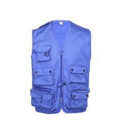 Les fabricants OEM la plus haute qualité hommes Gilet Veste sans manches avec Multi Pocket