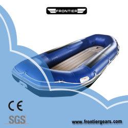 Usine de qualité supérieure de gros devoir Inflatable Whitewater Rafting Adventure PVC Bateau