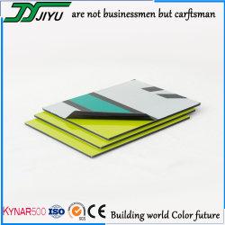 Commerce de gros PVDF panneau composite aluminium pour matériaux de revêtement mural