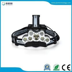 De multiples 9 LED T6 XPE Chargeing USB 2x 18650 Projecteur à LED de batterie