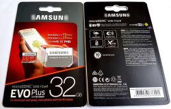 A capacidade real de venda por grosso de fábrica U3 Evo Plus 16GB, 32GB, 64GB, 128 GB, 256 GB, 512 GB, 1 TB de memória SD MMC Cartão de Memória Micro SD para HD Câmera 4K