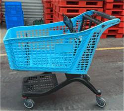 New Style Whole Plastic Lebensmittelgeschäft Einkaufwagen