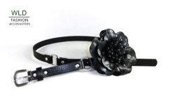 Flower Lady's Fashion PU Belt (KY5093-1)