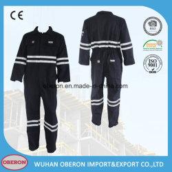 Resistente al fuego retardante de llama de la seguridad de la construcción reflectante Ropa de trabajo de algodón para los bomberos y el petróleo trabajador