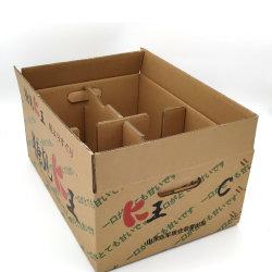 Farben-Frucht-Geschenk-Papierverpackenkarton-Kasten der Fabrik-Kundenbezogenheits-OEM/ODM 5-Ply gewölbtes für Birne/Orange/Apple/Zitrone/Mangofrucht/Banane/Frucht/Gemüse