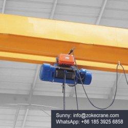 中国の電気リモート・コントロール単一のガードオーバーヘッドEotクレーン3 5 10販売のために引くことを用いる12トンの価格
