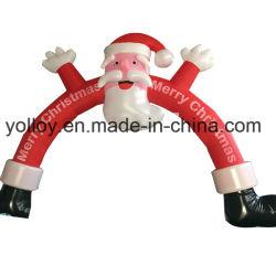 Santa Claus Arch Aufblasbar für Weihnachtsfeier Dekoration