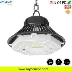 200W 34000LM Almacén regulable OVNI industriales de alta luz LED de la bahía de la Iglesia la luz de colgar