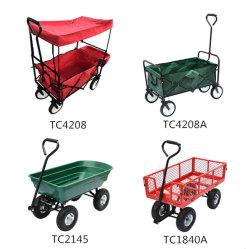 Высокое качество корзина инструментов сад складывания пневматической тележки на заводе пневматической тележки
