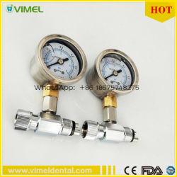 Manómetro de pressão de ar de Pega Dental Dental Testador do Medidor de Pressão do Detector