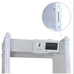 Alta sensibilidade à prova de segurança pessoal a pé através do detector do corpo para a Estação Ferroviária Escola de metro do aeroporto