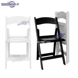 Открытый белый свадебные мероприятия Америки пластиковые смолы Уимблдон Складной стул