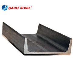 Q235 Ss400 Upn 열간압연 온화한 강철 채널 바 또는 채널