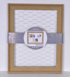 Cadre Photo en bois sur le fil de poulet avec Clothespin Clips, cadre photo,