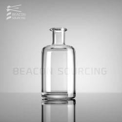 OEM ODM de Hoge Fles van het Glas van het Glaswerk van het Kristal van de Jenever van de Brandewijn van de Rum van Tequila van de Wisky van de Wijn van de Geesten van de Alcoholische drank van de Wodka van Alochol van de Wisky van de Bleekheid van de Transparantie Super Vuursteen Aangepaste