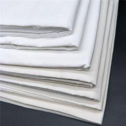 Tecidos de algodão tecido costela Cinza Heather tecido duplo