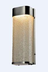 صنف عادية حديثة [لد] جدار ضوء مع يغضّن زجاج ([و-15358ل])