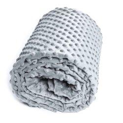 Gewichtete Decke Fabrik Gesteppte Minky Bettdecke