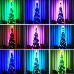 Helles RGB Pixel-feenhafter Baum LED-stellte für Weihnachtsdekoration ein