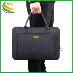 Ordinateur portable sac estimé manchon avec poignée pour voyage d'affaires