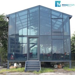 Diseño de cristal atérmico lucernario de vidrio laminado templado para la casa