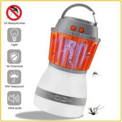 Resistente al agua IPX6 de camping al aire libre de insectos eléctrico anti repelente de mosquitos volando de la luz de Killer Killer