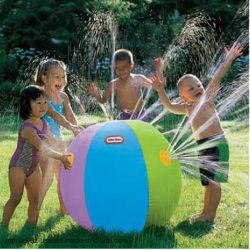 Plage de plein air la bille de l'eau du bain gonflable nager boule de pulvérisation d'eau de jouets de plage