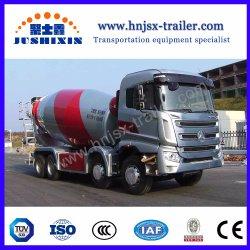 شاسمان/دونغفنغ/سينوتروك 8X4 شاحنة خلط خرسانية 14-18 سمم / شاحنة مزج خرسانية