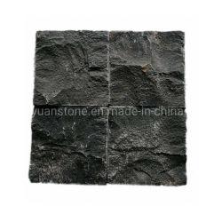 Basalte noir en pierre naturelle de galets, finisseur de granit chinois pour l'extérieur Paving