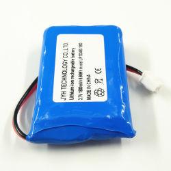 103450-1800labio mAh batería de polímero de litio de 1s1p