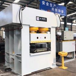 Alta eficiencia Zhongyou Automático de 2500 Ton Ton./3000 Panel de puerta metálica de acero hierro repujado de la piel de la puerta de la prensa hidráulica/pulsando la máquina con Ce y SGS