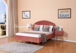 Sofá cama couro PU cama de casal Casa mobiliário de quarto