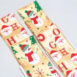 Fitas MIDI Imprimir tecido organza estopa fio fita de Natal da fita de orla para decoração de férias do Artesanato