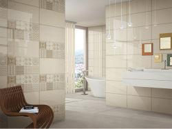 Матовым покрытием керамической плитки в ванной комнате Белого Non-Slip (MH6300)
