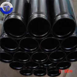 Seamless tuberías de acero al carbono ASTM A106b/API5l/API5CT/ASME 36.10 finaliza, ranurado, Material Structral
