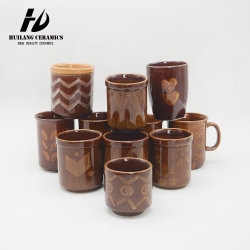 Горячая продажа керамики 8/9/10 унций кофе кружки Zebra в наличии на складе