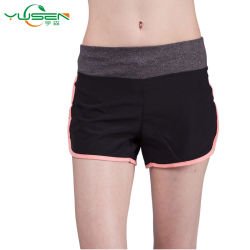 Pantaloni comodi assorbenti di yoga di usura di sport delle donne del tessuto dell'umidità