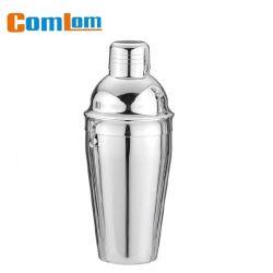 Agitatore con cocktail in acciaio inossidabile con finitura a specchio per superfici in argento Comlom Cl1z-Ajw01A