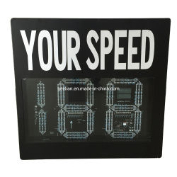 Предупредительные знаки с подсветкой Vehicle-Activated обратной связи драйвера дисплея дисплей скорости по радару