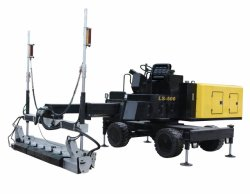 Tirata concreta del laser di tirata di potere della pavimentazione