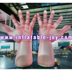 Avec des frais de livraison à la porte 5m de hauteur main gonflables géants