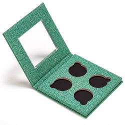 Papierpappkundenspezifisches Funkeln-magnetisches Augenschminke-Paletten-Verpacken