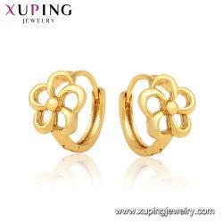 Fashion Style Cercle Hollow Out Fleur artificielle du cerceau Bijoux Earring