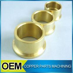 Cercle en laiton de haute précision des composants d'usinage CNC