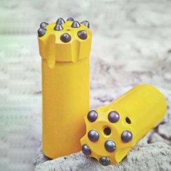 brocas de perforación de roca acero aleado de rosca de 33 bits - 152mm de diámetro para la minería para plataformas de perforación