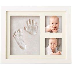 Empreinte Hand-Print Kit bébé & Photo Frame pour filles et garçons du nouveau-né
