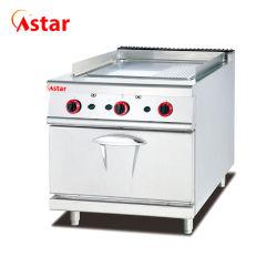 Гриль для приготовления пищи оборудование 1/3 газа с канавками в сковороде растительное масло с газовой плитой